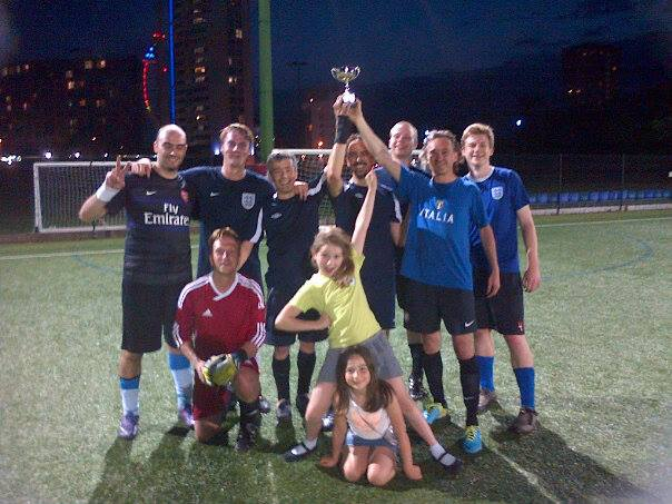 Portsmouth, winners of the NAM 2014 football tournament. Credit: NAM 2014 / ICG Portsmouth